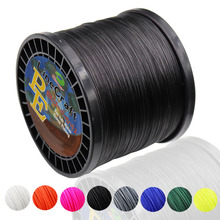 1000m PE Braided Fishing Line 16 Strands 8 Colors Super Power Japan Multifilament PE Braid Wire for Sturgeon Fishing