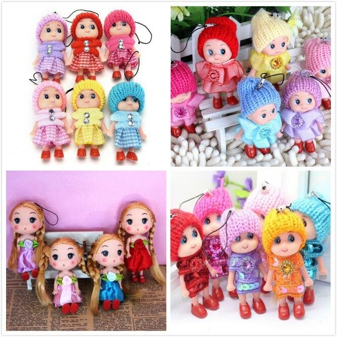 One Piece Multi Styles Doll Stuffed Dolls Plush Wedding Rag Doll Keychain Cute Toys Sweet Model Girl's Kids Birthday Gift
