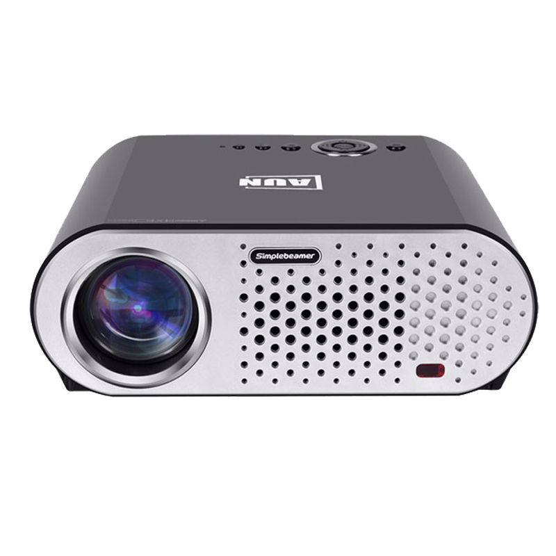 T90S Smart build-in android wifi home theater projector 3200lumens led lamp long life bluetooth DTV cinema projector VS LED96