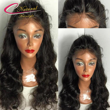 180% Density Thick Body Wave Full Lace Human Hair Wig Best Quality Lace Front Wigs For Black Women With Natural Baby Hair