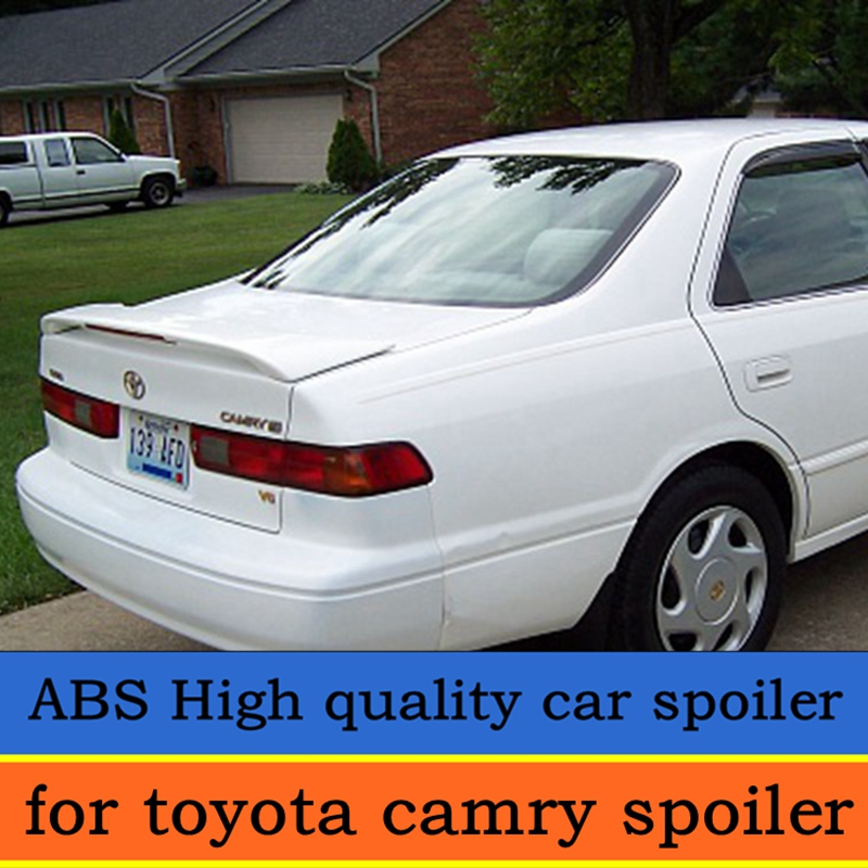 For Toyota Camry Spoiler 1998-2002 Model Camry Spoiler With Light High Quality ABS Material Paint Color For Camry Spoiler