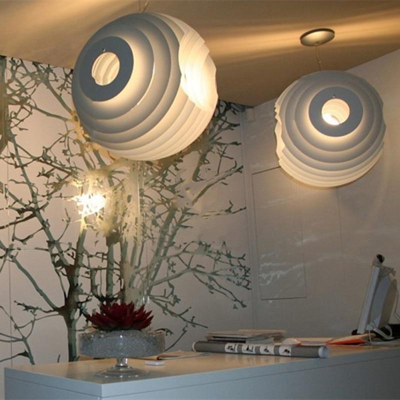 Modern White Supernova Photography Studio Pendant Lamp Creative Bird Nest Shape Lamp Living Room Light Cafe Light Free Shipping