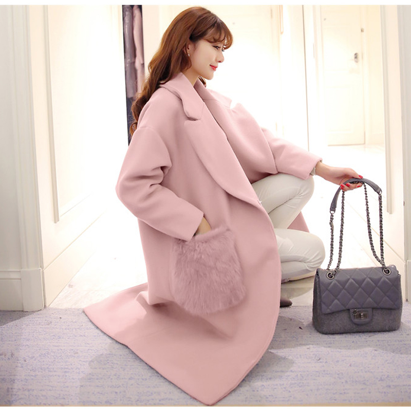 Popular Pink Wool Coats-Buy Cheap Pink Wool Coats lots from China