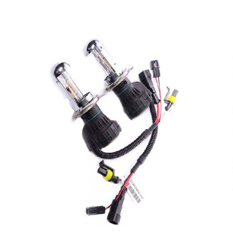 a pair 55W H4 hi lo lamp H13 9004 9007 H4 3 HID Bi xenon font