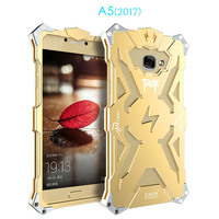 Fashion Simon Thor Case For Samsung Galaxy A5 2017 Cases Cover Aluminum Metal Frame Case For