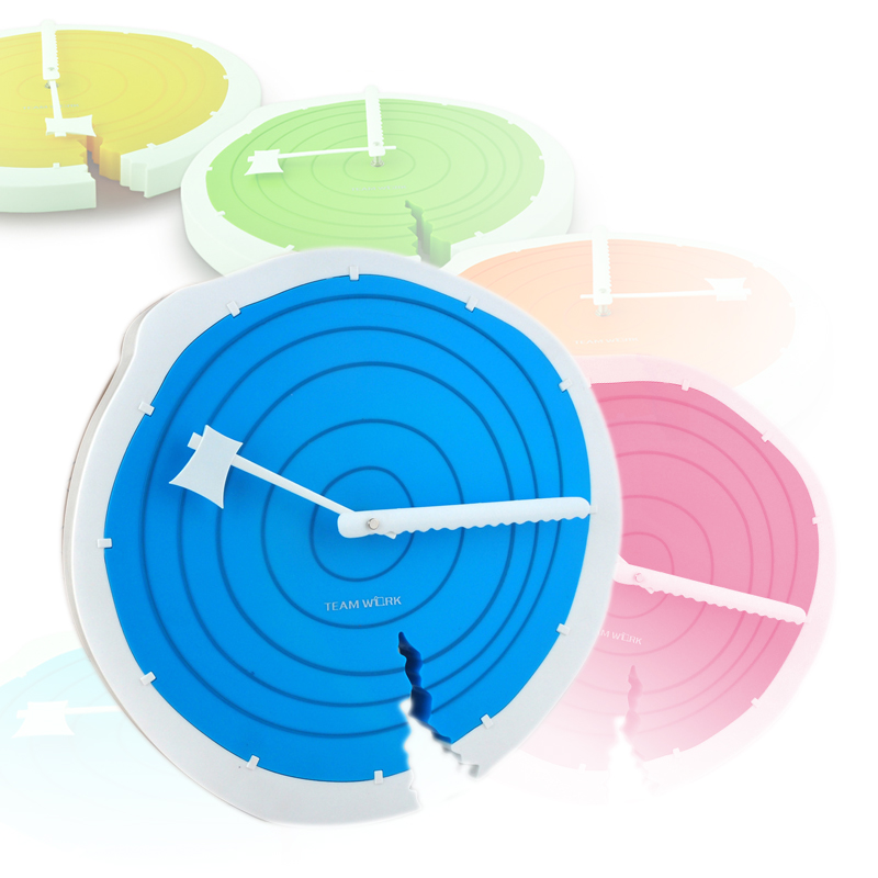 New Tree Ring Wall Clock Creative Personality Ring Clock Creative 3d Wall Clock Home Horloge Murale A