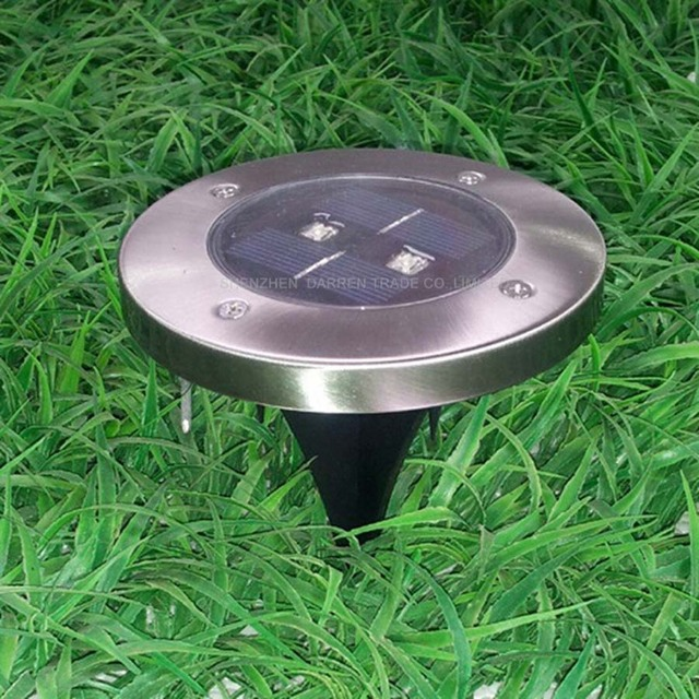 Solar Lawn Lamp Waterproof Ed Outdoor Path Garden Patio Landscape Floor Lights In Lamps From Lighting On
