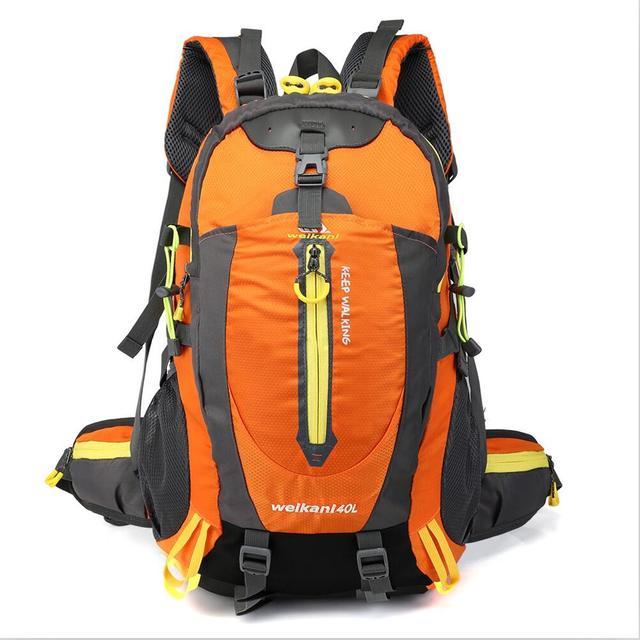 40L Outdoor Camping Backpack Trekking Man Waterproof Hiking Bag Travel Rucksack