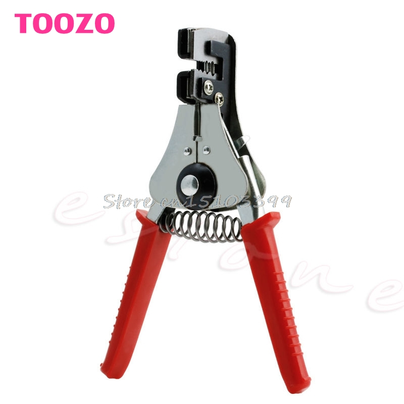 Automatic Cable Wire Stripper Stripping Steel Crimper Crimping Plier Cutter Tool #G205M# Best Quality  цены