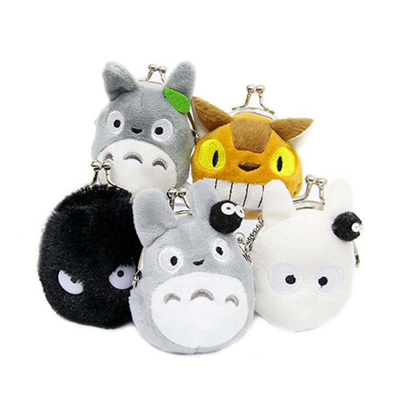 7CM Totoro Clip Design Wallet Plush Stuffed Toy Mini Keychain Plush Toys  Japanese Totoro Bus Cat Toy Wallet Cute Gift J00127CM Totoro Clip Design Wallet Plush Stuffed Toy Mini Keychain Plush Toys  Japanese Totoro Bus Cat Toy Wallet Cute Gift J0012