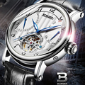 Switzerland BINGER мужские часы Топ бренд класса люкс турбийон автоматические часы мужские самокручивающиеся модные механические наручные часы reloj
