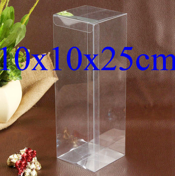 In Stock Wholesale Baked Food Box Birthday Gift Box Pvc Display
