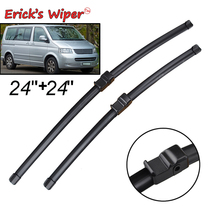 "Ericks Wiper LHD Front Wiper Blades For VW Caravelle T5 2003 2004 2005 2006 Windshield Windscreen Front Window 24""+24"""