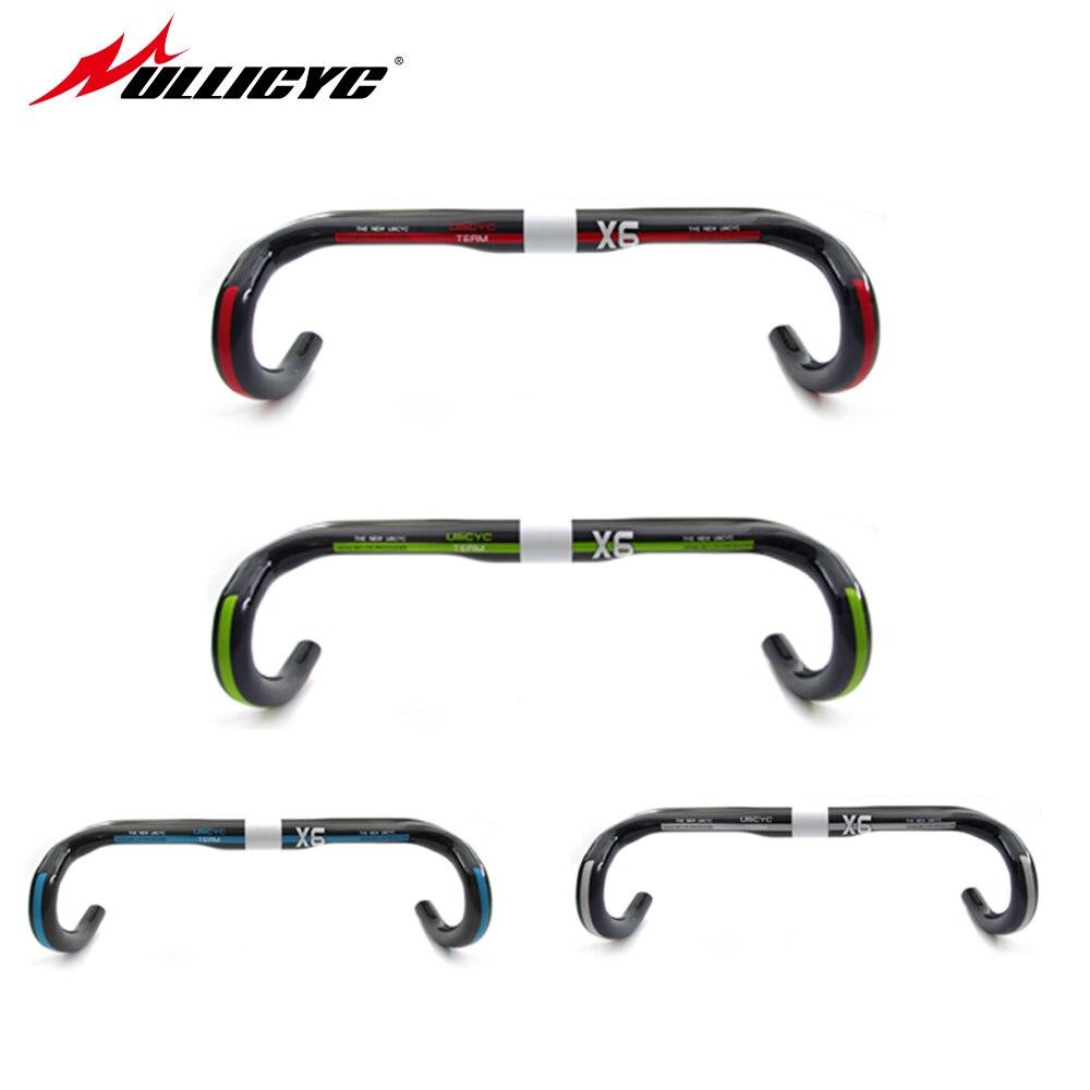 ULLICYC Road carbon Handlebar Bike Cycling Handlebar bicycle handlebar UD Carbon Bar Bike Accessories 440 420