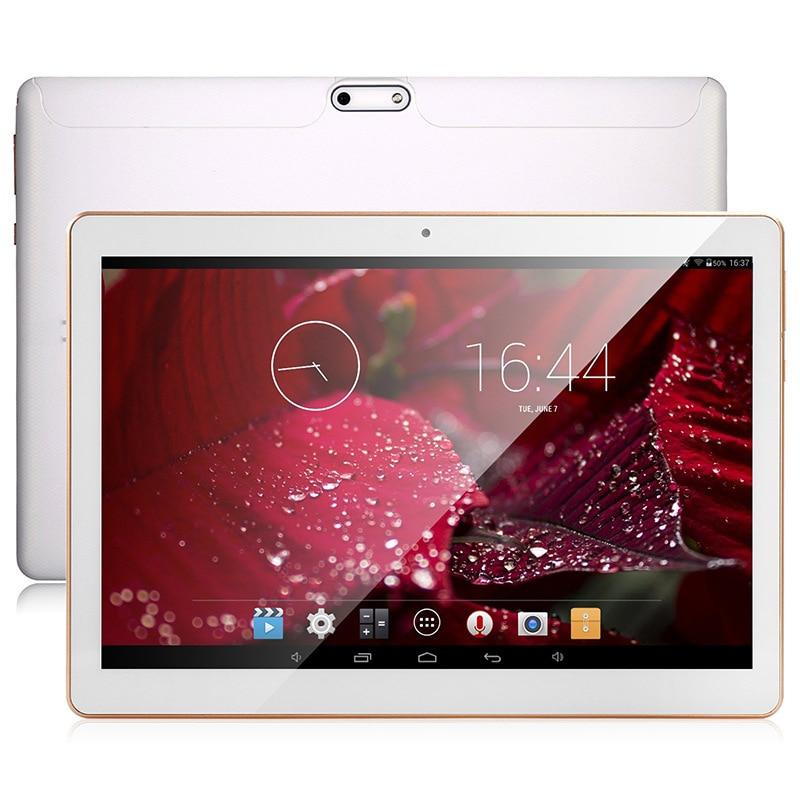 Zdx marca 3g pad 10 pulgadas ips pantalla android 5.1 tabletas pc tab Quad Core