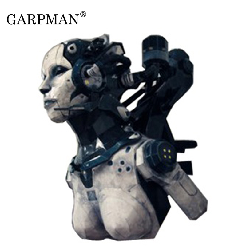 US $27 63 11% OFF|55cm Star Terran Woman Adjutant Paper Model Magazine  Version Paper Craft To'y-in Card Model Building Sets from Toys & Hobbies on