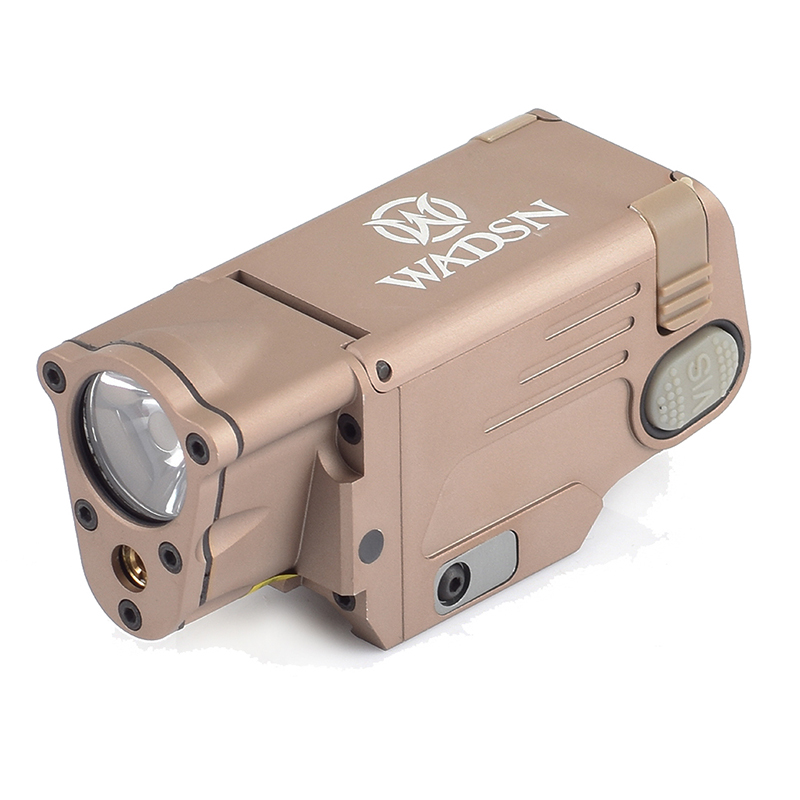 SEIGNEER Tactical CNC Finished SBAL-PL Red Laser and LED Weapon light Constant Strobe With Red Laser WM113SEIGNEER Tactical CNC Finished SBAL-PL Red Laser and LED Weapon light Constant Strobe With Red Laser WM113