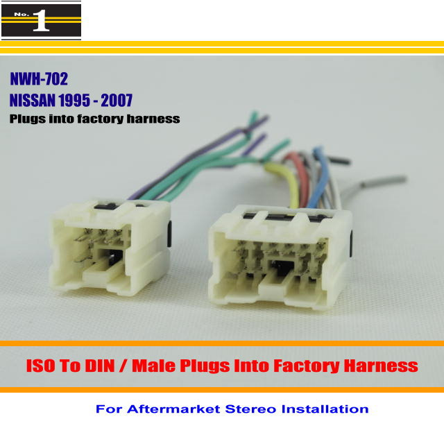 Nissan Stereo Wiring Harness Plugs Into The Factory Radio Radio Wire