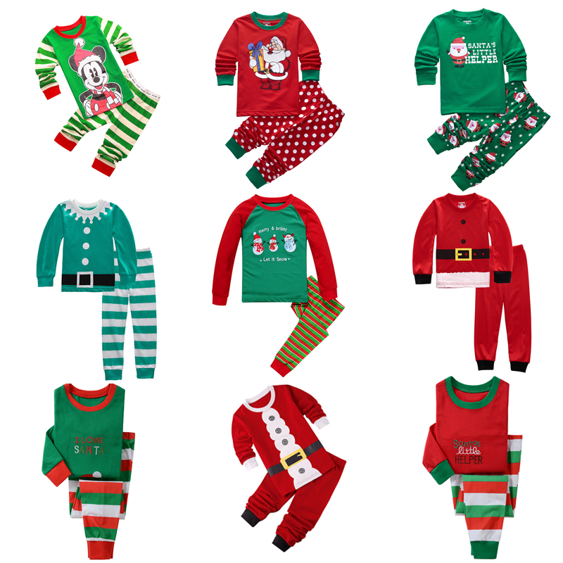 Kids Boys   Pajamas   Toddler Sleepwear Clothes   Sets   Infant Child Robe Children New Year Pijamas For Boy Christmas Pyjamas