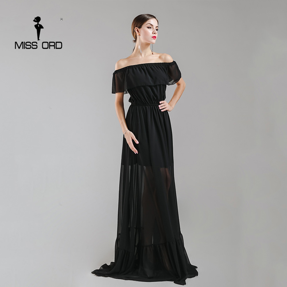 12d5b5482d156 Missord 2018 Sexy ruffles strapless fold maxi dress party dress FT4984-in  Dresses from Women's Clothing & Accessories on Aliexpress.com | Alibaba ...