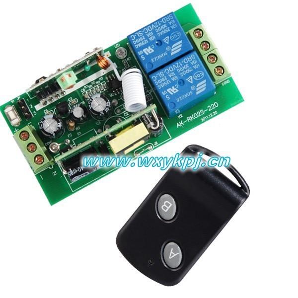 HOT AC85V-260V RF wireless remote control system Smart home control Receiver & Transmitter RF radio remote control dc24v 8ch rf wireless remote control switch 8 receiver