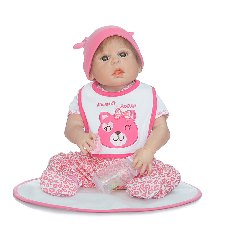 23 girl reborn babies dolls bebe full body silicone real born dolls best children gift dolls play house toy real bonecas reborn23 girl reborn babies dolls bebe full body silicone real born dolls best children gift dolls play house toy real bonecas reborn