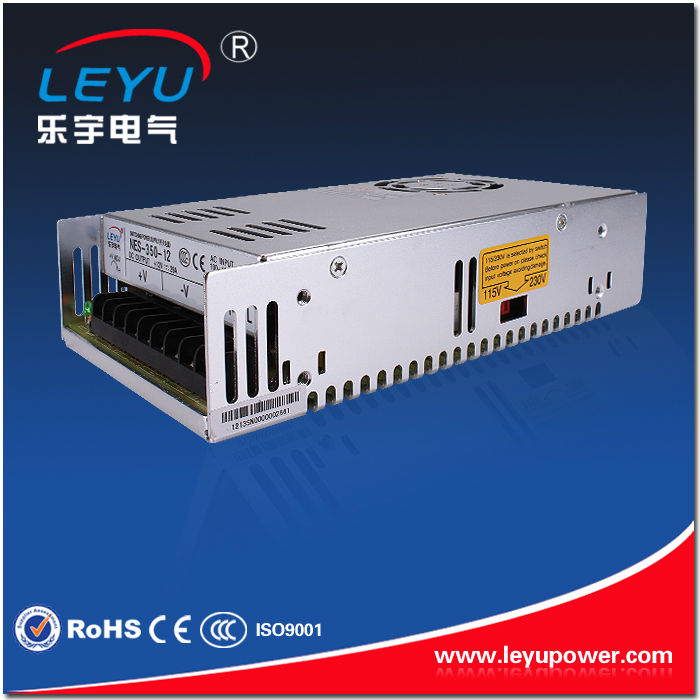 Chinese supplier 12V NES-350W  AC DC single output led driver switching power supply approved CE ROHS ce rohs ms 50 24v ac dc mini size single output switching power supply from chines supplier