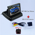 "Car LCD Monitor 4.3"" Foldable Color LCD Monitor with 4IR night vision rear camera ccd for Teana/Paladin/Tiida/Sylphy"