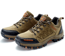 Men Hiking Shoes Sneakers Breathable Trekking Shoes Waterproof Climbing Zapatillas Deportivas Hombre Outdoor Sports Shoes