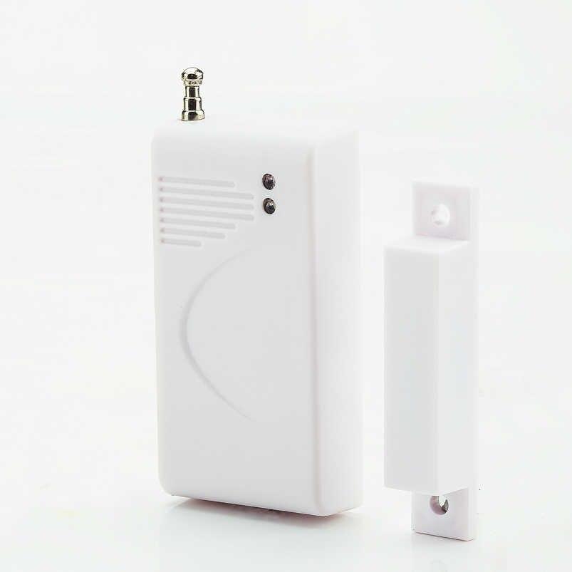 433 MHz Sensor & Alarm Kontak Jendela Pintu Nirkabel Magnet Masuk Detector Sensor untuk Nirkabel GSM Rumah Keamanan Alarm Sistem