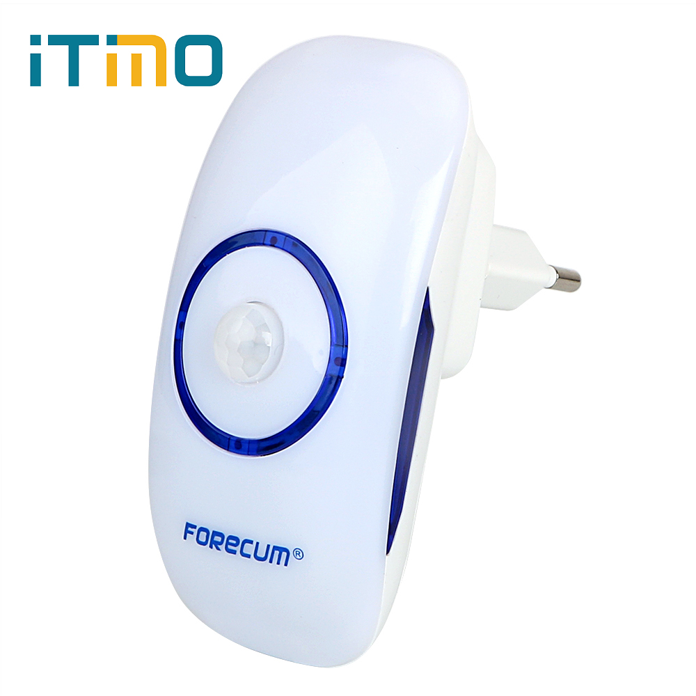 ITimo Home Decors 18 LEDs Ultra-Bright Light Sensor + PIR Motion Sensor LED Night Lights For Bedroom Cabinet Corridor EU Plug