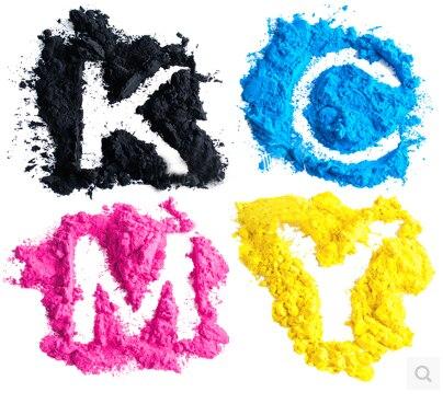 (1kgx4bags) kcmy color toner powder compatible for Konica Minolta MagiColor 2300, 2300w, 2350, 2350en refill color toner hot selling 4 color magicolor 3730 organic photoconductor drum unit tnp20 for konica minolta