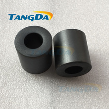 Tangda RH Core Ferrite OD*ID*H 26*13*28 mm Cylindrical Core soft ferrite core magnet core For cable EMI A.