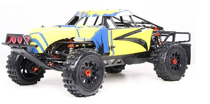 baja 5T 30.5CC with nice roll cage 29cc baja metal head metal roll cage nice pipe