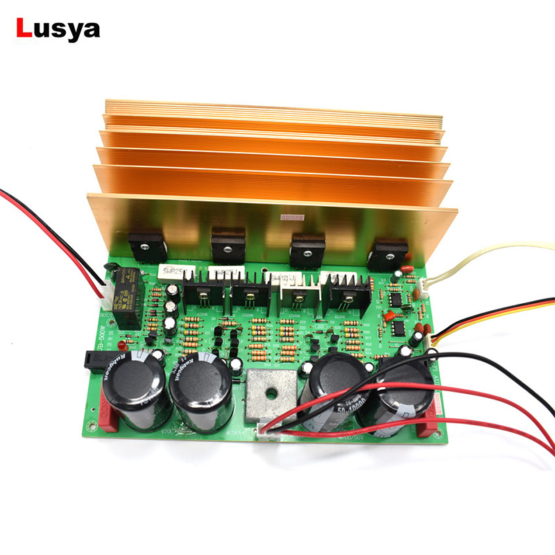 High Power Subwoofer Amplifier 500W Pure Bass BTL Circuit Super Power Amplifier Board AC Dual 24V Subwoofer Amplificador 150w pure tone bass amplifier board high power 12v toshiba 8 12 inch subwoofer core tube vehicle