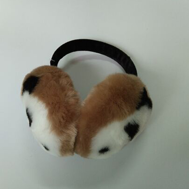 1 Pcs 2015 New Lovely Cartoon Rabbit Hair Earmuffs Autumn And Winter Fur Ear Muffs Furry
