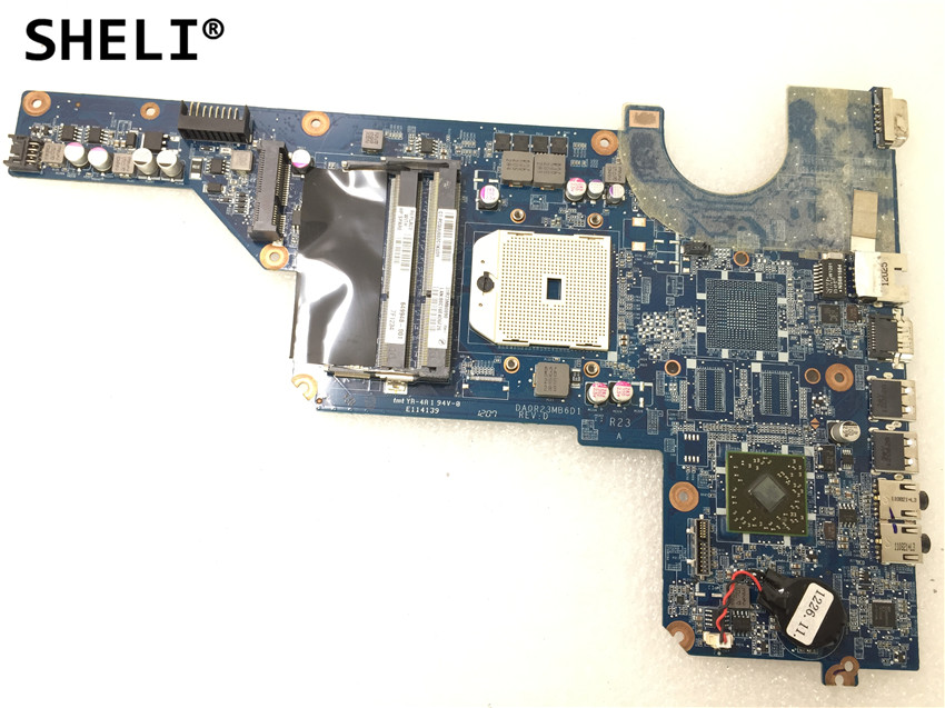 SHELI For HP G62 G72 Motherboard  649948-001 SHELI For HP G62 G72 Motherboard  649948-001