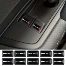 Car Styling 10 PCS NISMO Auto Decorativa Adesivos de Roda Do Emblema Do Emblema Do Decalque Do Carro Para Nissan Tiida Teana Skyline Juke X -trilha Almera(China)