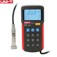 UNI T UT315 цифровой тестеры вибрации ускорения вибрации скорость перемещения измерения USB подключения ПК Мягкий