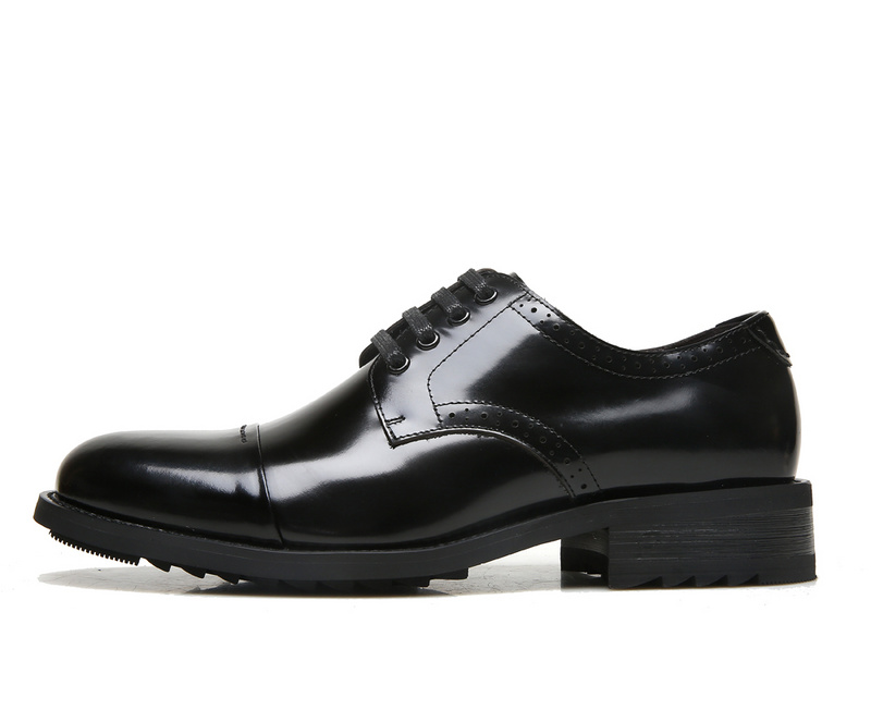 ECCO Brand New Arrival Fashion Men Shoes Party and Wedding Men Dress Shoes Black Formal Male Oxford Shoes 623535 5