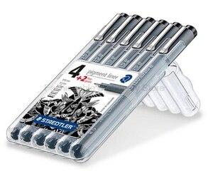 Image 2 - STAEDTLER 308 SB6P 6 psc Art Marker Penne set A Base di Acqua Inchiostro Creativo set di materiale scolastico Uffici
