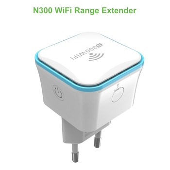 WiFi Range Extender, 300Mbps Wireless Repeater, WiFi Signal Booster, 2.4GHz, EU Plug Type Meross MRE120