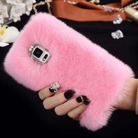 3D Rabbit Hair Fur Case For Xiaomi Redmi 4x Redmi Note 4 Redmi 4a Furry Glitter