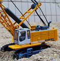 Hot sale !1 : 87 glide alloy construction vehicles toy model,Cable excavator truck model,Free shipping, Baby educational toys