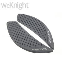 New Arrival Anti Slip Sticker Motorcycle Tank Traction Pad Side Knee Grip Protector For Kawasaki ER