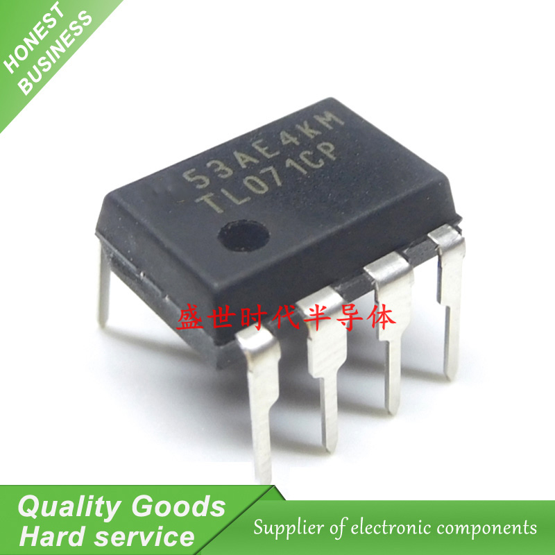 10PCS TL071CP TL071 DIP-8 Operational Amplifier New Original Free Shipping10PCS TL071CP TL071 DIP-8 Operational Amplifier New Original Free Shipping