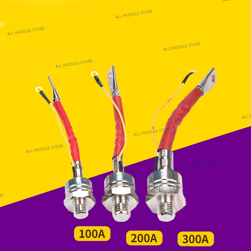 KP100A KP200A KP300A  FREE SHIPPING NEW AND ORIGINAL 100A 200A 300A 1600V 3CT Silicon Rectifier Spiral Diode Thyristor