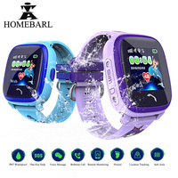 Swim IP67 Waterproof DF25G GPS Children Baby Phone Smart Watch SOS Location Device Tracker DF25 LBS Kids Safe Anti Lost Monitor