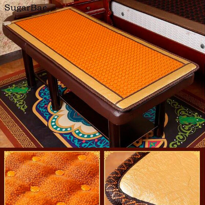 2017 new loess ball beauty pad jade heated mattress high - Mattress made of balls ...