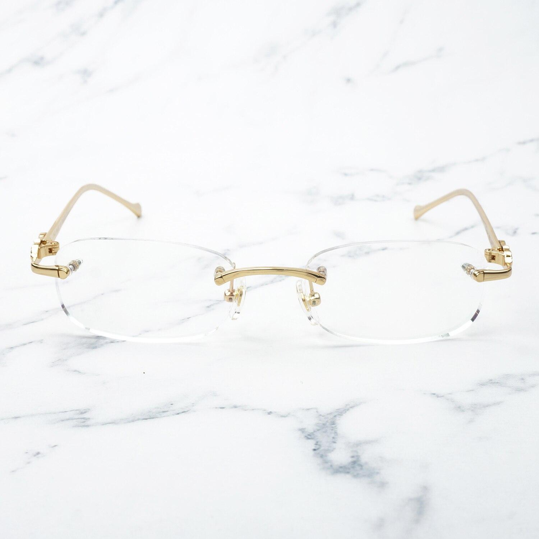 98b070ba06 Retro Pantera gafas De lujo gafas De marco para las mujeres De moda gafas  al por mayor gafas De Sol De Carter gafas 166